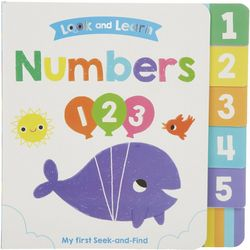 Kidsbooks Look And Learn Numbers Book