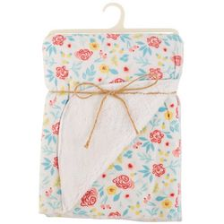 Chick Pea Baby Girls Floral Blanket