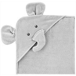 Carters Baby Boys Elephant Hooded Towel