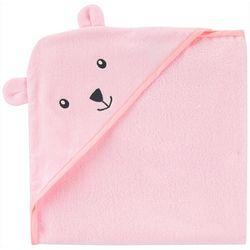 Carters Baby Girls Bear Hooded Towel