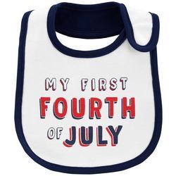 Baby Boys My First Fourth Of July Bib