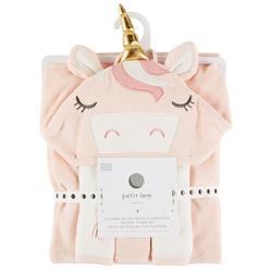Baby Girls 4-pc. Unicorn Bath Set