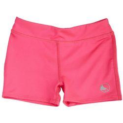 Reel Legends Girls Solid Spandex Shorts