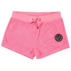 Big Girls Terry Cloth Solid Shorts