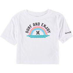 Hurley Little Girls Surf And Enjoy T-Shirt