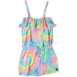 Hurley Big Girls Cabana Tie Dye Romper