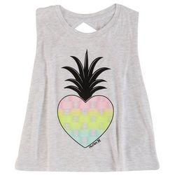 Hurley Big Girls Pineapple Heart Tank Top