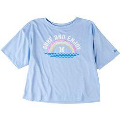 Hurley Big Girls Surf And Enjoy T-Shirt