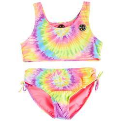 Big Girls 2-pc. Tie Dye Tankini Swimsuit