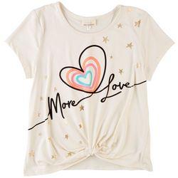 Self Esteem Big Girls More Love Short Sleeve Top