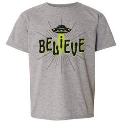 Awayalife Big Girls Believe T-Shirt