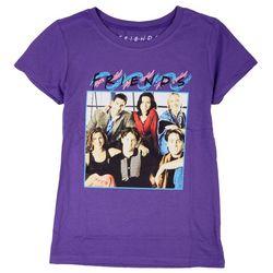Friends Big Girls Group Screen Print T-Shirt