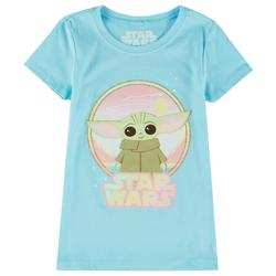 Little Girls The Child Glitter T-Shirt