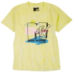 MTV Big Girls Vintage Logo Print Top