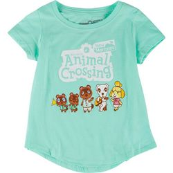 Animal Crossing Big Girls Character Print T-Shirt