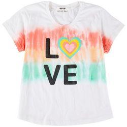 Full Circle Trends Big Girls Rainbow Love Top