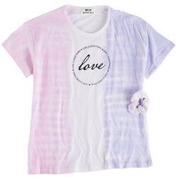 Full Circle Trends Big Girls Love Circle Tie Dye Top