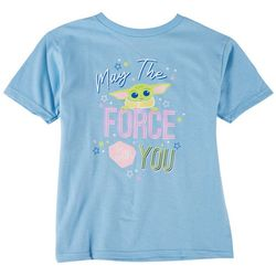 Star Wars Big Girls The Child Force Be With You T-Shirt
