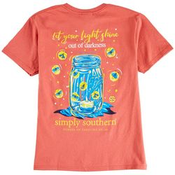 Simply Southern Big Girls Let Your Light Shine T-Shirt