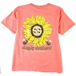 Big Girls Sunflower T-Shirt