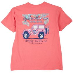 Simply Southern Big Girls God Is Within Her T-Shirt