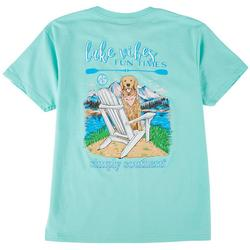Big Girls Lake Vibes Fun Times T-Shirt