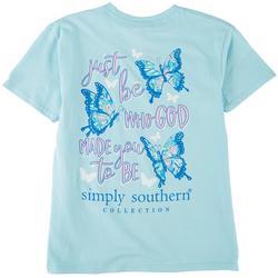 Big Girls Butterfly T-Shirt