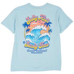 Simply Southern Big Girls Salty Hair Sandy Toes T-Shirt