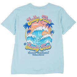 Big Girls Salty Hair Sandy Toes T-Shirt