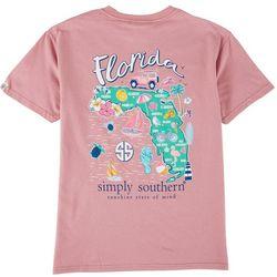Simply Southern Big Girls Florida Symbol T-Shirt
