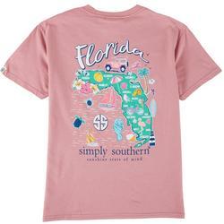 Big Girls Florida Symbol T-Shirt