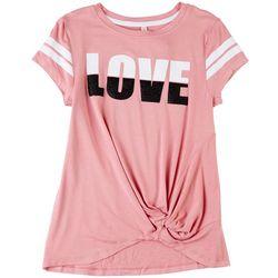 Runway Girl Big Girls Love Stripe T-Shirt