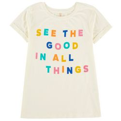 Runway Girl Big Girls See The Good In All Things T-Shirt