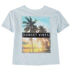 Runway Girl Big Girls Sunset Vibes T-Shirt