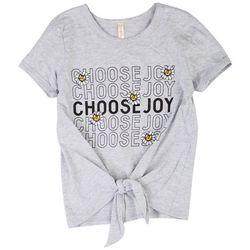 Runway Girl Big Girls Choose Joy T-Shirt