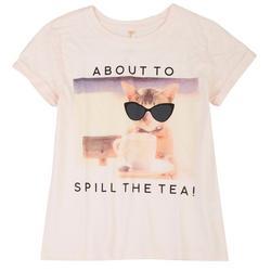 Big Girls About To Spill The Tea T-Shirt