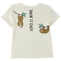 Runway Girl Big Girls Takin' It Easy T-Shirt