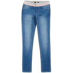 Big Girls Pull On Denim Pants