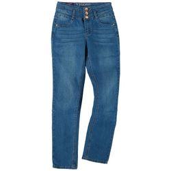 Vigoss Big Girls Super Stretch High Rise Denim Jeans