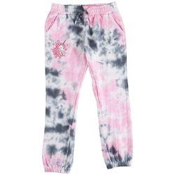 Hot Kiss Big Girls Tie Dye Unicorn Jogger Pants