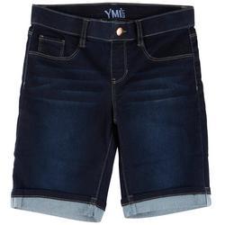 Big Girls Cuffed Bermuda Shorts
