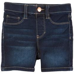 Little Girls Pull On Denim Shorts