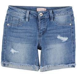 Squeeze Big Girls Deconstructed Denim Shorts