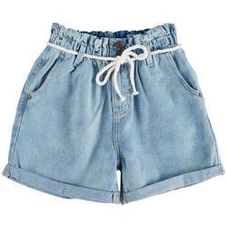 Big Girls Paperbag Shorts