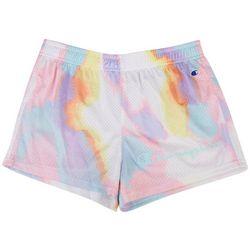 Champion Big Girls Tie Dye Mesh Shorts