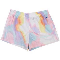 Big Girls Tie Dye Mesh Shorts