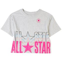 Converse Big Girls Repeat Boxy T-Shirt