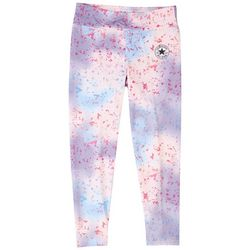 Converse Little Girls Splatter Print Leggings