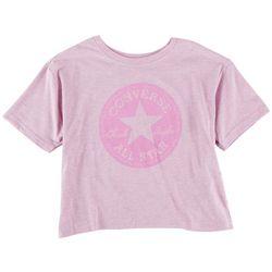 Converse Big Girls Tonal Logo Short Sleeve T-Shirt