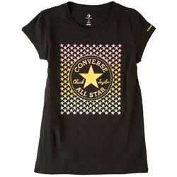 Big Girls Star Logo Print T-Shirt